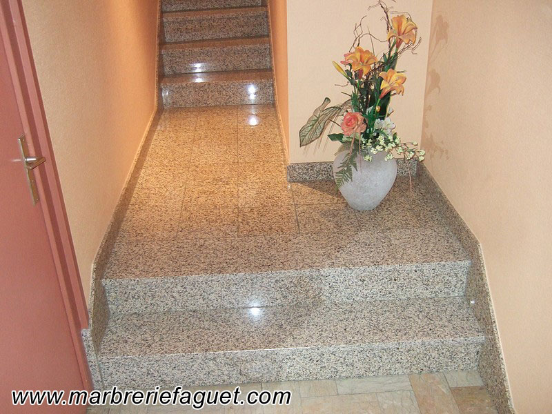 Photo 4 - escalier-marbre-granit-pierre