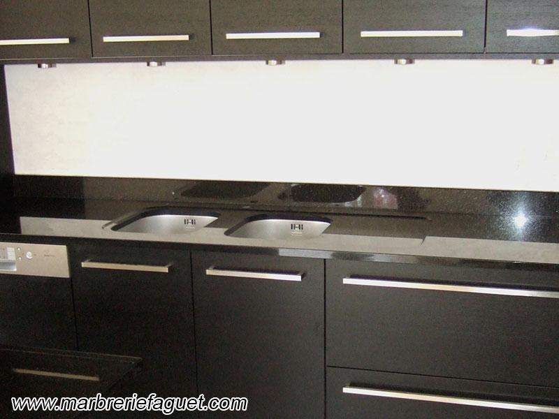 marbre noir galaxy cuisine solutions pour la d233coration