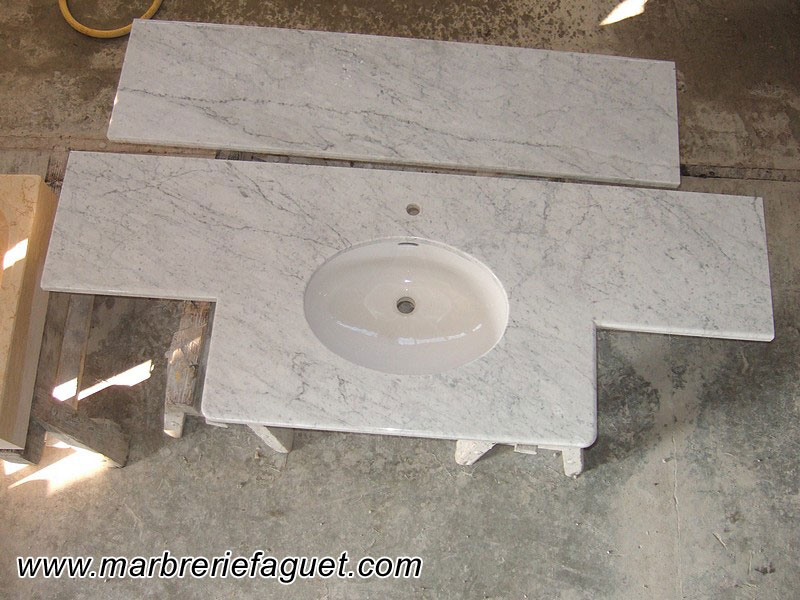 vasque et salle de bains en marbre et en pierre 38 et 73. Black Bedroom Furniture Sets. Home Design Ideas